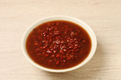 Red bean soup Stock Images