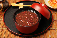 Red bean soup Royalty Free Stock Photo