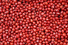 Red beans. Composed of a lot of red beans red background Stock Photos