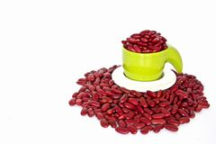 Red beans Stock Image