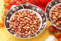 Red beans. Some red beans in a bowl Royalty Free Stock Photo