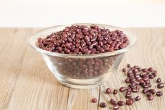 Red beans Stock Photography