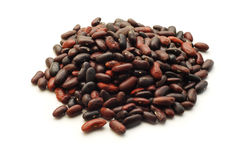 Red beans isolated Stock Images