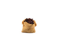 Red beans sacks Stock Photo