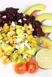 Red beans salad with avocado. Stock Images