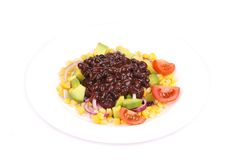 Red beans salad. Royalty Free Stock Photo