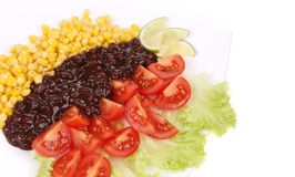 Red beans salad. Stock Images