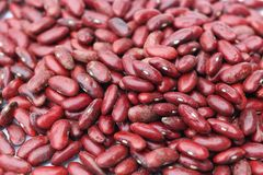 Red beans. Is used as a background Stock Photo