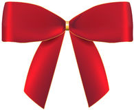 Red beautiful bow Royalty Free Stock Image