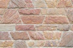 Red beautiful stone wall texture Stock Photo