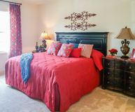 Free Red Bed Royalty Free Stock Image - 57215056
