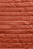 Red bed cover texture Royalty Free Stock Photos