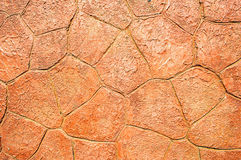 Red bedrock background texture Stock Photos