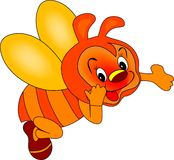 Red Bee Stock Images