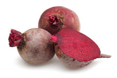 Red beet group Stock Photography
