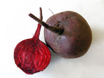 Red beet pictures for farming sites Royalty Free Stock Photos