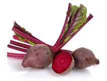 Red Beet root. Isolated on white background royalty free stock image