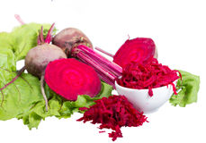 Red beet. Royalty Free Stock Image