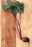 Red Beet on Wood Royalty Free Stock Photography