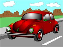 Red Beetle Royalty Free Stock Image