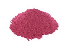 Red beetroot powder stock images