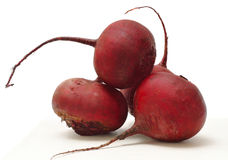 Red beets. Isolated on white background Stock Photo