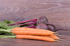 Red beets and carrots Stock Photo
