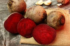 Red beets Stock Photography