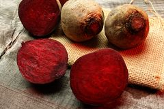 Red beets Stock Images