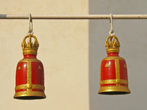 Red bell pairs Stock Images