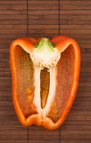 Red bell pepper. stock photography