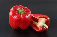 Red Bell Pepper Stock Image