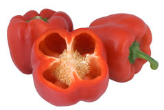 Red bell pepper or capsicum Royalty Free Stock Photo