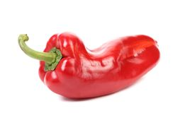 Red bell pepper. Royalty Free Stock Photography