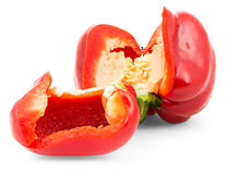 Red bell pepper. Stock Image