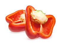 Red bell pepper Royalty Free Stock Images