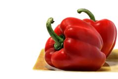 Red Bell Peppers Royalty Free Stock Photo