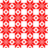 Red Belorussian sacred ethnic ornament, seamless pattern. Vector illustration. Slovenian Traditional Pattern Ornament. Belorussian sacred ethnic ornament Royalty Free Stock Photo