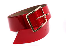 Red belt Royalty Free Stock Image
