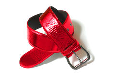 Red belt Stock Image