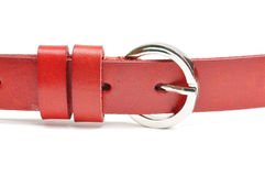 Red Belt Royalty Free Stock Photo