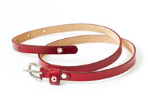 Red belt Stock Images