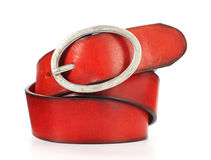 Red belt Royalty Free Stock Photos
