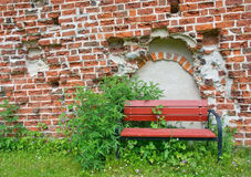 Free Red Bench Stock Image - 50620401