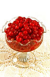 Red berries and sugar Stock Photo