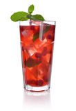 Red berry drink Royalty Free Stock Image
