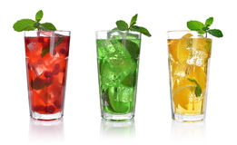 Red berry drink Stock Images