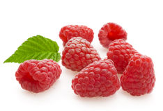 Red berry raspberry Stock Photography