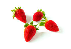 Red berry strawberries Stock Image