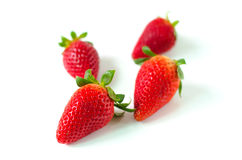 Red berry strawberries Stock Photo